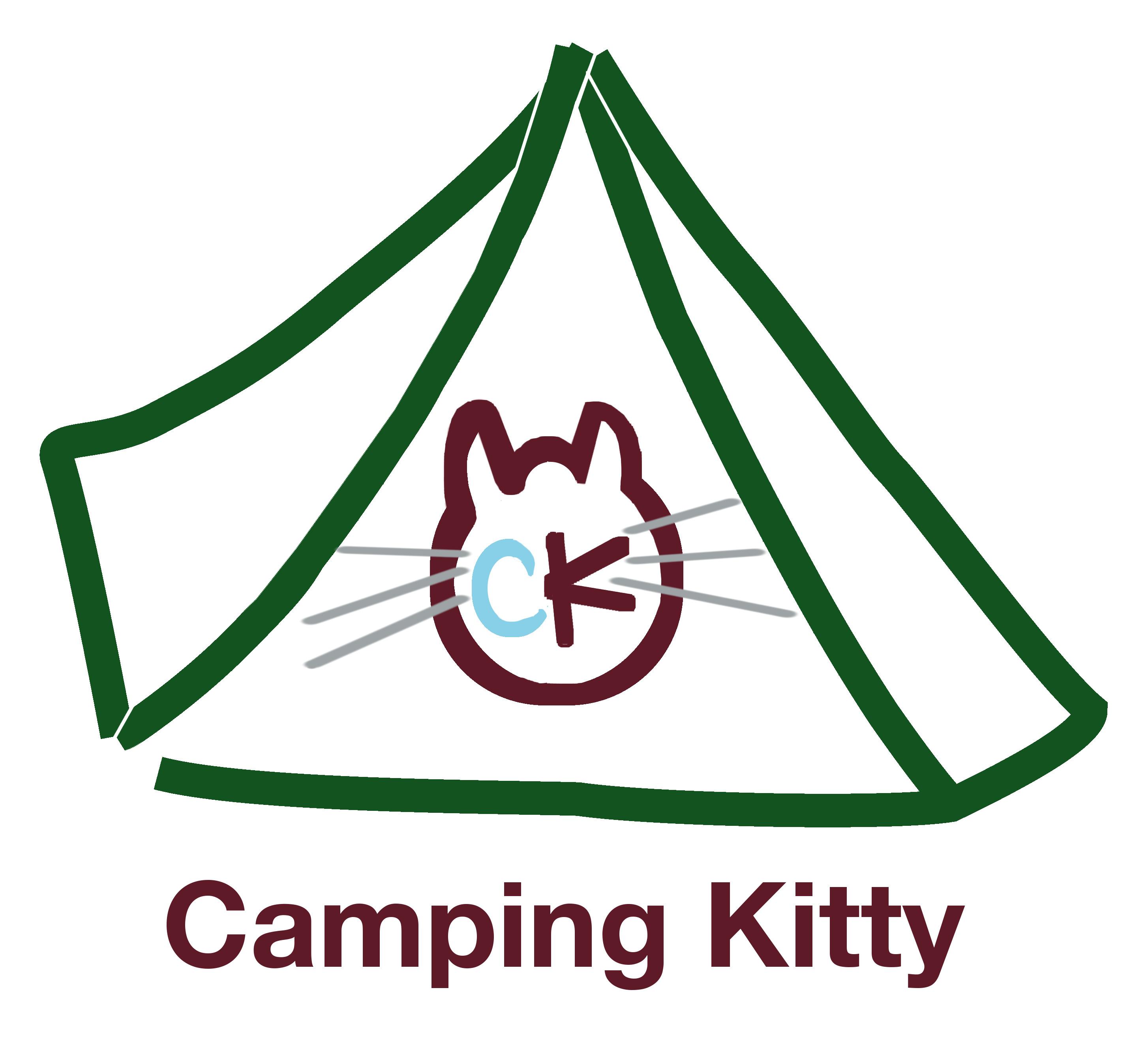 camping kitty logo 1