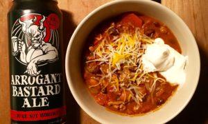 'Arrogant Bastard Chili' is the crock pot's fiery revenge