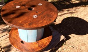 The Flannel Jack 'Adirondack' spool table