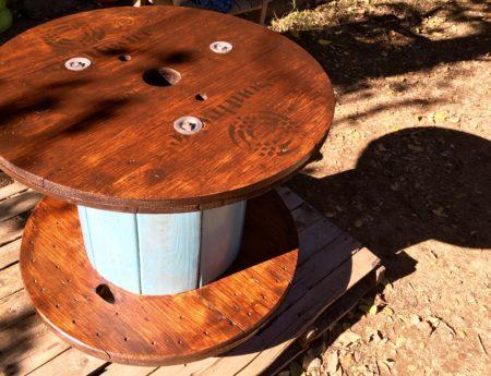 The Flannel Jack 'Adirondack' spool table