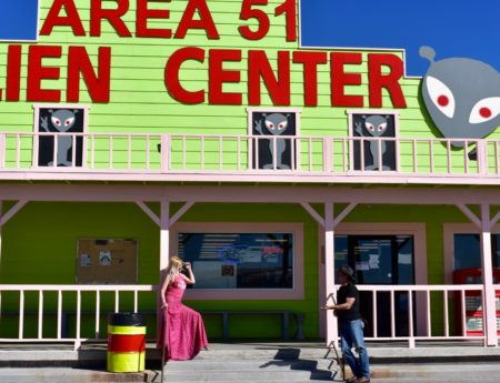 Area 51 and the Search for Intelligent Life